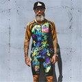 2019 летний мужской спортивный костюм для велоспорта с рисунком граффити, велосипедная Униформа ciclismo hombre bicicleta triathlon