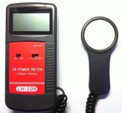 Infrared Radiometer  Power Meter IR light transmittance Radiation meter sun light solar illuminance measure rang:1- 30000uW/cm2  цены