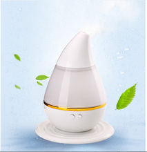 New Arrival Ultrasonic Mini USB Home Office Humidifier Diffuser Air Moist Moisture Skin Care Tool White
