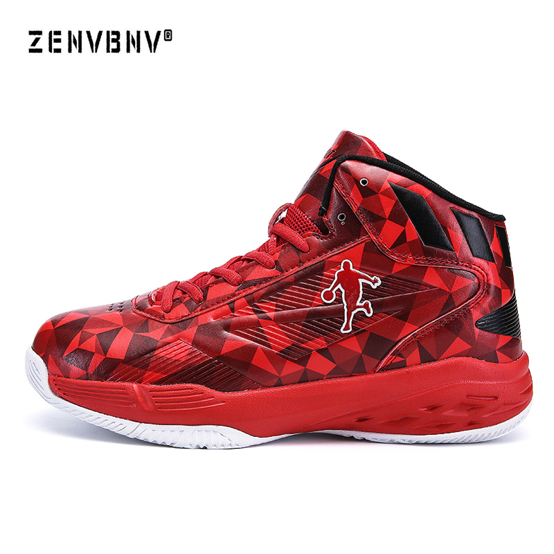 Zenvbnv Sport Shoes For Men Leather Basketball Shoes Kids Anti-Slip Woman Basketball Shoes Cheap Mens Sneakers Basketball Tops under armour men curry 5 basketball shoes stephen curry sport basketball sneakers male training unique socks design sport shoes