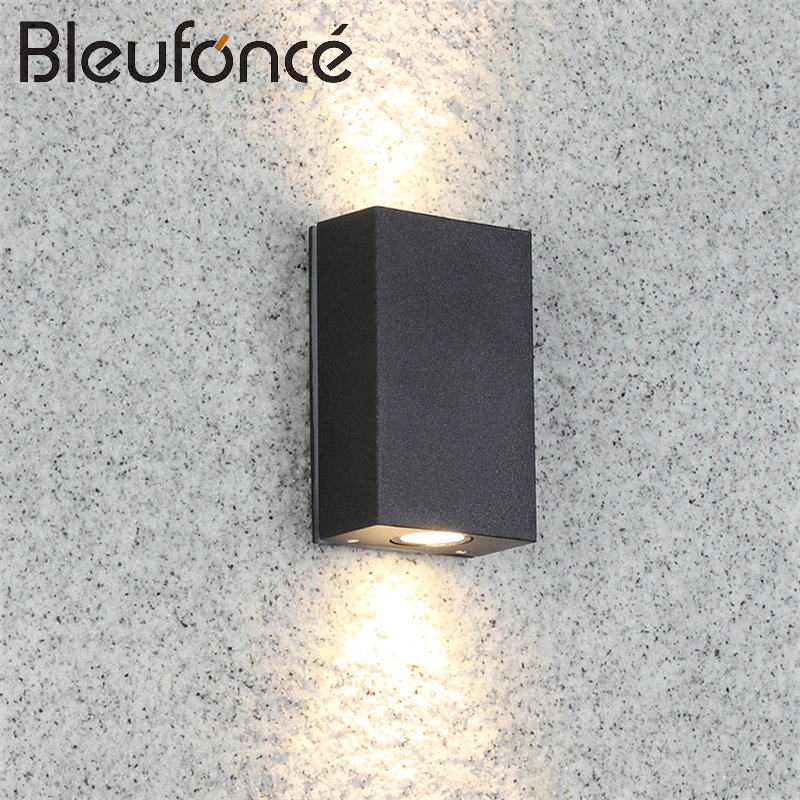 Modern Outdoor Wall Lamp LED Waterproof Wall Lamp Up and Down Spotlight Outdoor Lights Simple Aisle Corridor Garden lights BL04 6w 12w 18w led wall lamp outdoor waterproof modern corridor wall lamp outdoor garden lights balcony doorway aisle lights lp 010