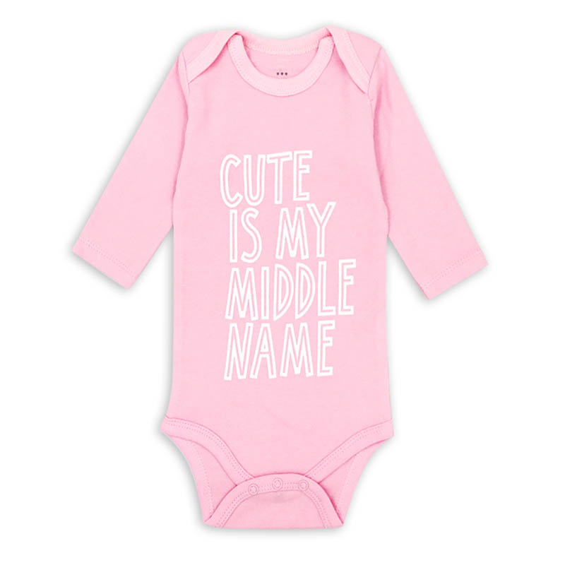 2018 New Baby Bodysuits Boy Girl Summer Clothes Jumpsuit Long Sleeve Cotton Infant comfort Clothing sets 0-3Y AGLDI