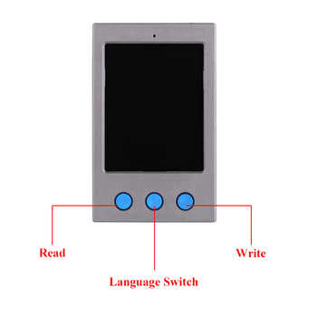 LCD Screen EEPROM Programmer Photosensitive Data Read Write for iPhone XR/XS/XS MAX/X/8/8P Vibrate Code Read Write Programmer