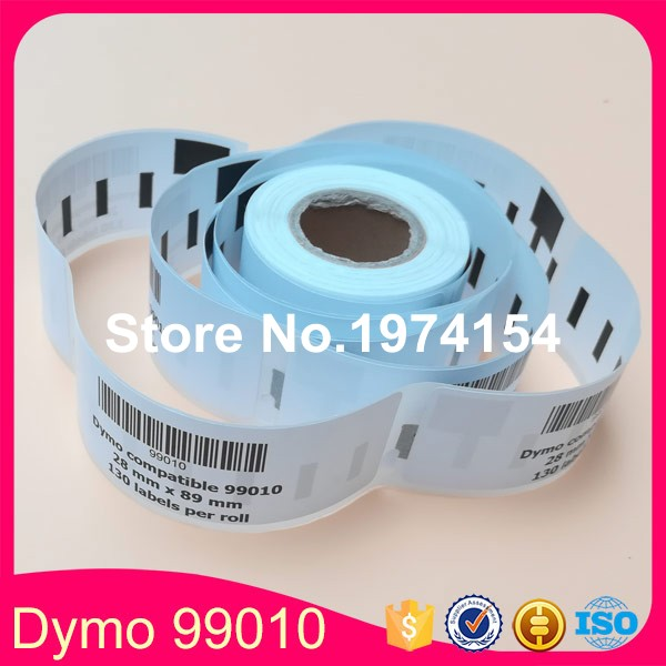 25x rolls dymo compatible labels 99010 heat sensitive paper dymo labels dymo99010 28mm x 89mm
