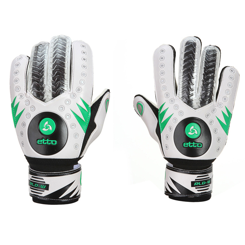 Top Quality Soccer Gloves Football Goalkeeper Gloves Professional Soccer Gloves Training Hand Finger Protection For Goalkeeper adidas adidas ace replique goalkeeper gloves