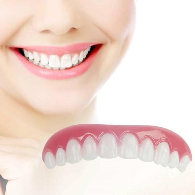 US $2 81 41% OFF|Perfect Smile dental Comfort Fit Flex Teeth Whitening  Denture Paste Teeth dentista Cosmetic veneers for teeth Cover dental  tools-in