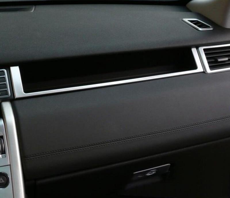 Carbon Fiber Center Console GPS Panel Trim For Land Rover Discovery Sport 15-18