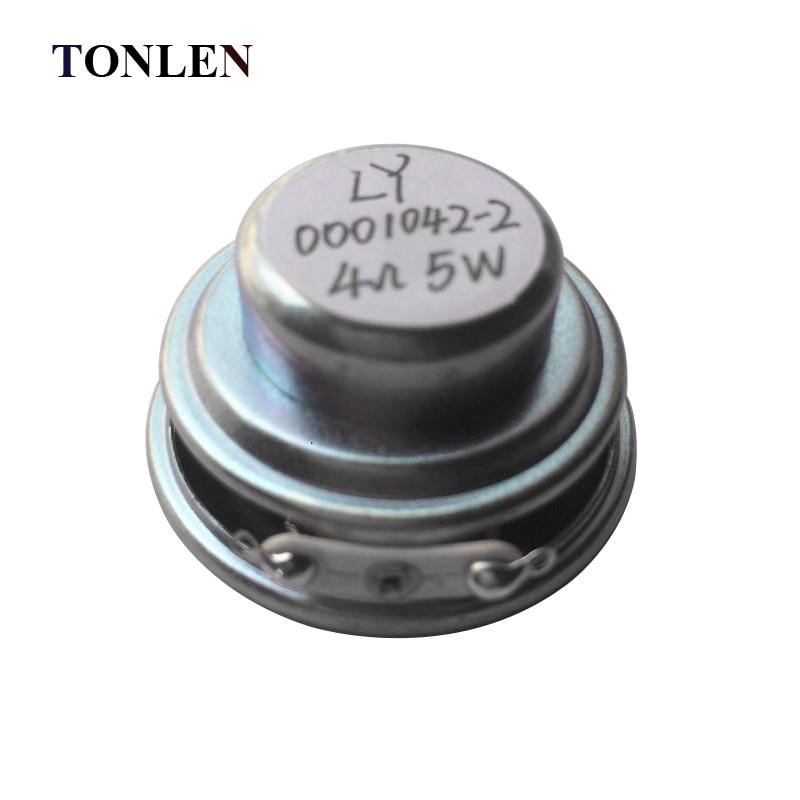 TONLEN 2Pcs 40mm Full Range Բարձրախոս 1.5inch 5W 4ohm HiFi - Դյուրակիր աուդիո և վիդեո - Լուսանկար 5