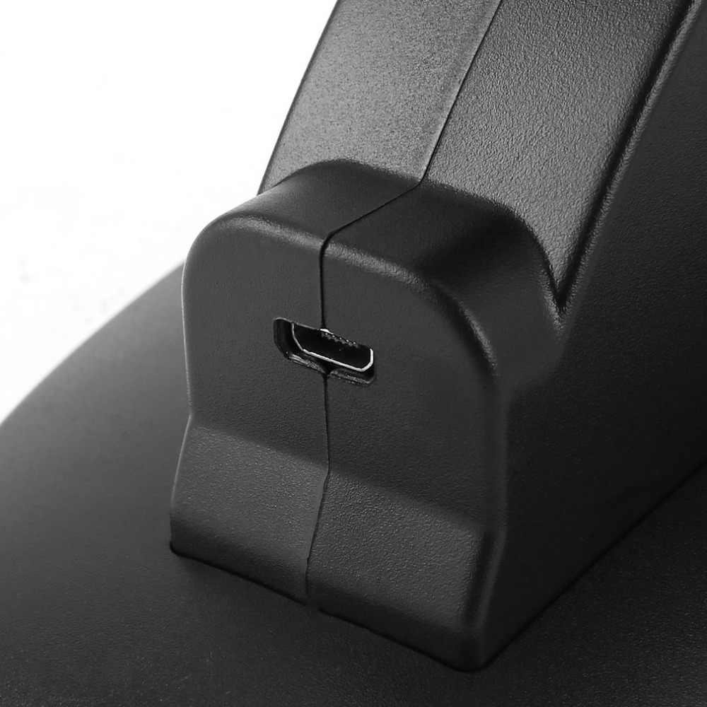 Светодиодный двойной зарядка через usb Зарядное устройство Док-станция Подставка крэдл док-станция для sony Playstation 4 PS4 игровая консоль контроллер подарок