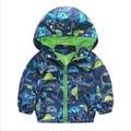 New baby boy coat cartoon pattern spring autumn kids jackets fashion coat for boys rainy outdoor wear toddler boys clothes 1-6T