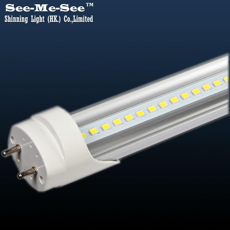 Image 2 - 20PCS/Lot 2ft 10W 4ft 1200MM 20W 32W 288PCS led chips/pcs AC85 265V double row chip T8 led tube-in LED Bulbs & Tubes from Lights & Lighting