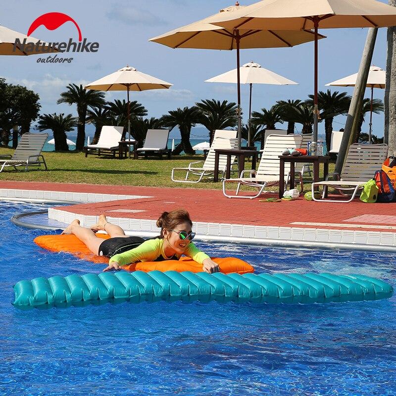 Natyrore Ultralight TPU Camping inflatable Dyshek Folding Sleleep - Kampimi dhe shëtitjet - Foto 4