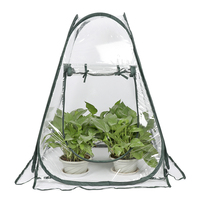 Garden Greenhouse Portable Folding Mini Transparent Greenhouses PVC Warm Room