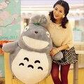 2015 nueva 25 cm Hayao Miyazaki Totoro muñeco de peluche juguetes encantadores grande1 bebé juguetes brinquedos kawaii juguetes