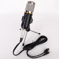 USB+3.5MM BM 800 Studio Microphone For Computer Meeting Professional Condenser Microphones with Desktop Tripod
