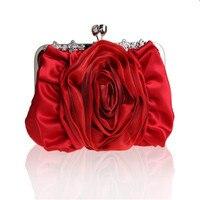 ร้อนขายผู้หญิงถุงเย็นที่จัดเลี้ยงใหม่3Dดอกไม้บิ๊กกระเป๋า, Messengerได้B Olsasแฟชั่นแต่งงานElegentผ้าไหม...