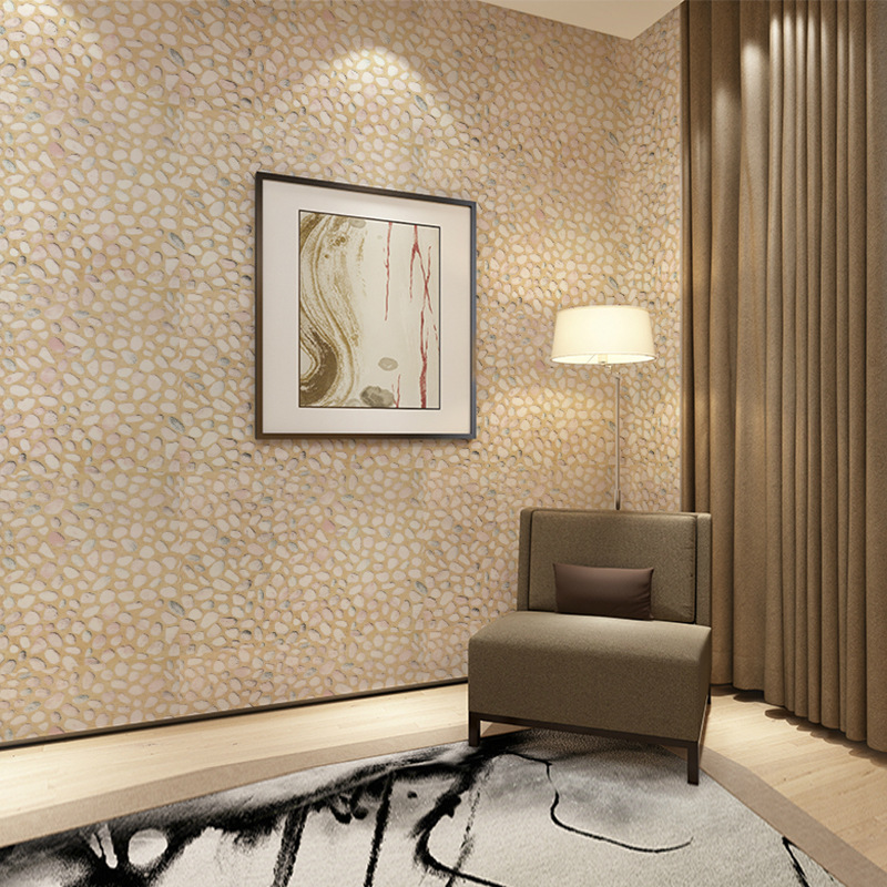 3D Pebbles Wallpaper Removable PVC Self Adhesive Waterproof Stone Wallpapers For Living Room Bedroom TV Background Wall Decor