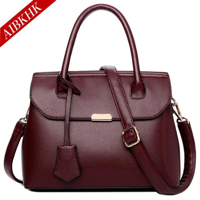 Genuine Leather Handbags Luxury Designer Shoulder Crossbody Bags for Women 2018 Fashion Totes Female Famous Brand Lady Hand Bag 1