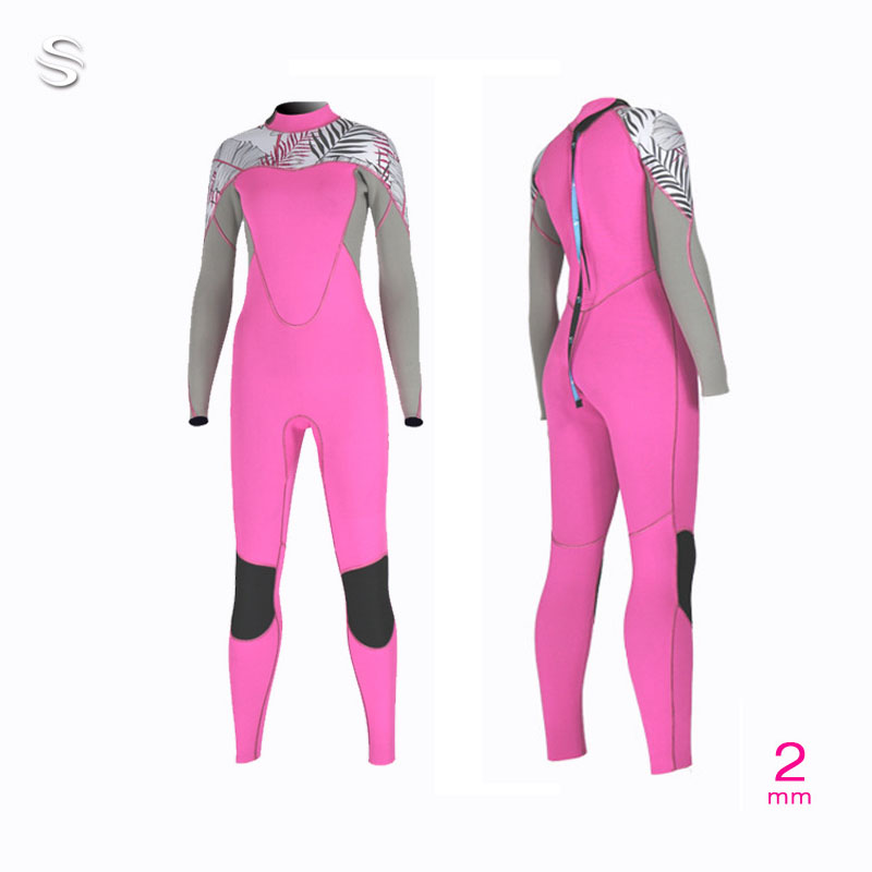 Slinx Full wetsuit women s suit 2mm wetsuits long sleeve for scuba Water ski Snorkel Surf
