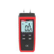 UNI-T UT377A Mini Digital Wood Moisture Meter Hygrometer Humidity Tester for Paper Plywood Wooden Materials LCD Backlight