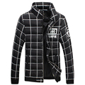 New Men's Winter Jackets and Coats Men's Cotton-padded Clothes Stand Collar Cotton Thick Outwear For Men Fashion Plus Size M-5XL