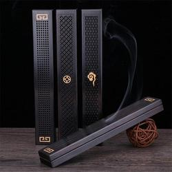 1pcs Wooden Incense Holder Incense Coffin Burner Traditional Chinese Type Wood Incense Burner Box 3 Types