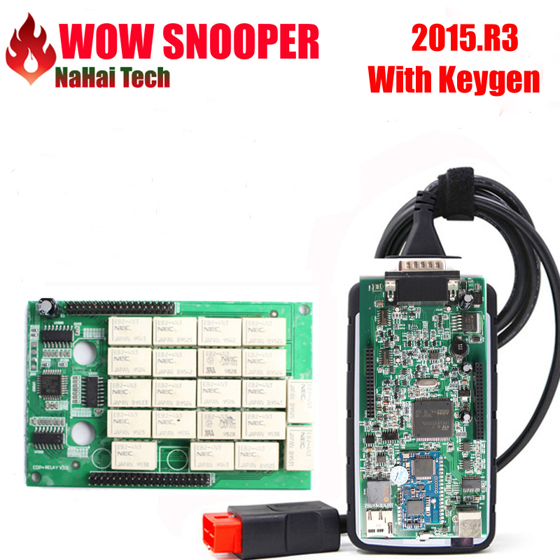 US $19 2 52% OFF|WOW SNOOPER Bluetooth 2015 R3/2016 R1 with keygen Wurth  V5 00 8 R2 TCS CDP MAULTIDIAG PRO NEW VCI MVDIAG Diagnostic Scanner on