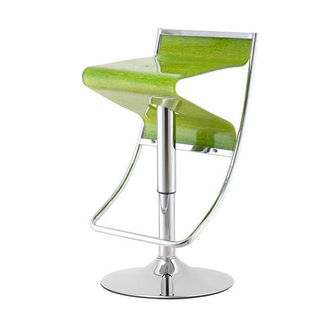 European Style Bar Chair Living Room Coffe Stool Red Green Acrylic Seat  Retail And Wholesale Free