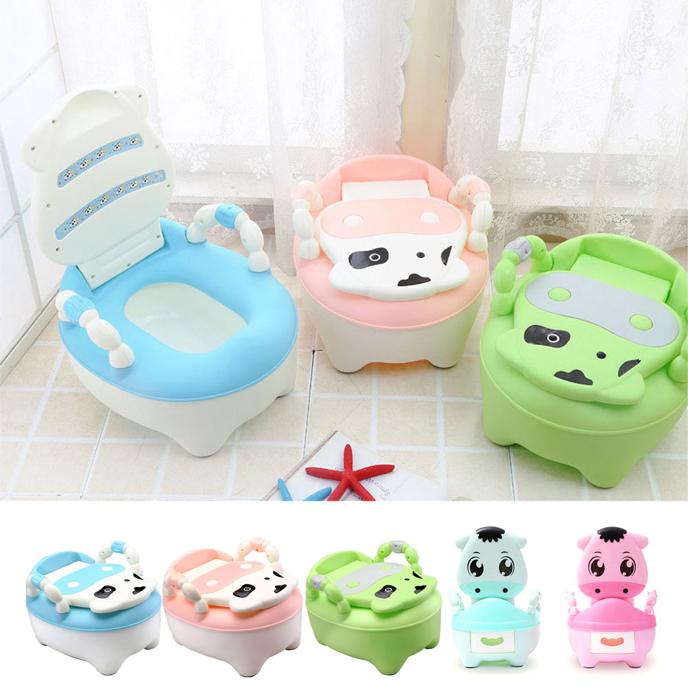Children Baby Potty Training Cows Boy Girl Portable Toilet Seat Infant Potty Toilet Pot YH-17 ...