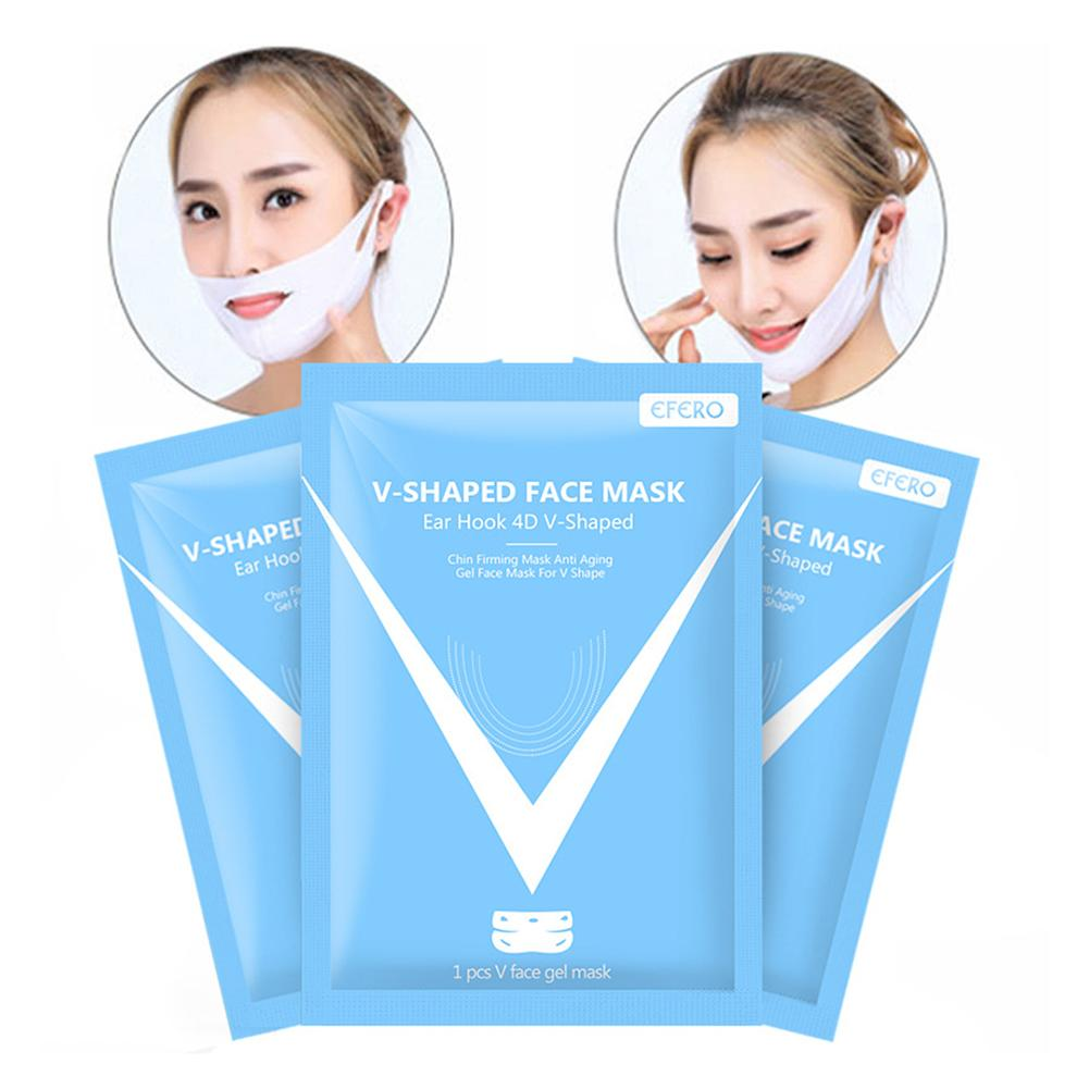 4D Lifting Mask V Line Face Lift Double Chin Reducer Intense Lifting Layer Firming And Moisturizing Mask For Women Beauty Supply