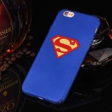 Superman Hard Plastic Case For iPhone