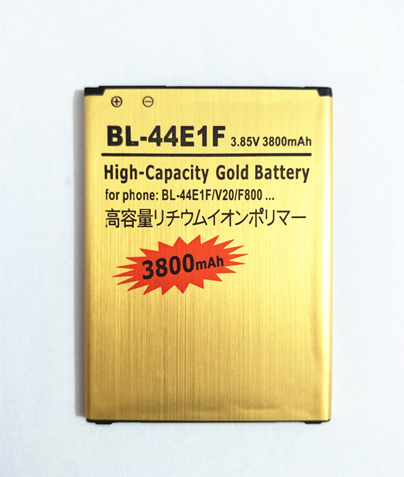 AZK Replacement Gold BL-44E1F Battery For LG V20 H990 F800 VS995 US996 LS995 LS997 H990DS H910 H918 hone battery(China)