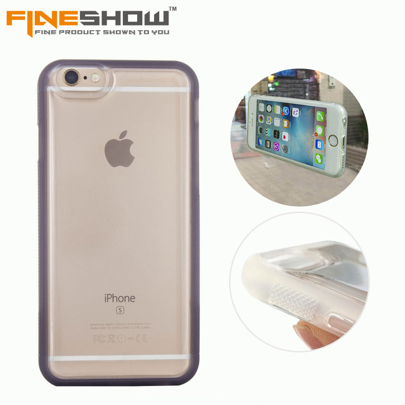 For iphone 7 plus New Transparent Anti gravity back cover