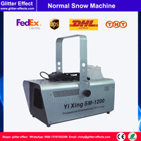 DJ stage snow making special effect 1200W small snowflake maker creating machine