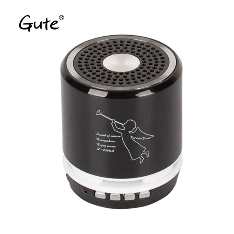 Gute neue spalte LED licht Bluetooth wireless lautsprecher woofer Radio handfree tragbare enceinte bluetooth tragbare puissant re fan