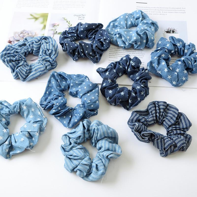 Vintage Floral Sunflowers Fabric Headband Bandana Hairband Hair Tie Band Scarf Y
