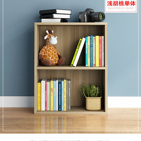 Bookcases Living Room Furniture Home Furniture panel  three-layer bookcase bookshelf whole sale 60*40*24 cm hot new quality2016  shelf
