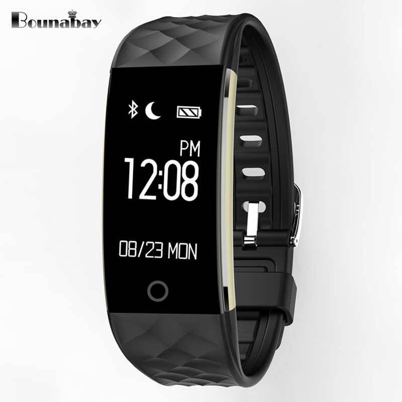 BOUNABAY Bluetooth 4.0 Smart man watch for apple android ios phone waterproof Camera men Clock Touch Screen man's Clocks men's top brand smart watch camera 1 2 inch tft capacitive touch screen shaking bluetooth heartrate for ios apple phone android phone