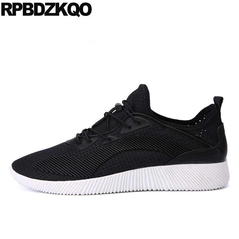 Casual Black Men Rubber Comfort New 2017 Trainers Sneakers Shoes Soft Soled Breathable Fashion Autumn Hot Sale Stylish Popular 2017 new summer breathable men casual shoes autumn fashion men trainers shoes men s lace up zapatillas deportivas 36 45
