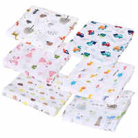 1Pc Muslin 100% Cotton Baby Swaddles Soft Newborn Blankets Bath Towels Gauze Infant Wrap sleepsack Stroller Cover Play Mat