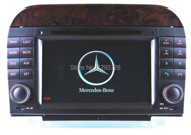 mercedes s class w220 bluetooth/mercedes s500 gps/mercedes w220 radio