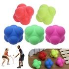 <+>  TRP Шестиугольный Прыгающий Мяч Твердые Фитнес-Тренировки Ловкость Скорость Реакции Мяч Спорт на отк ①