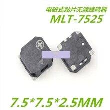 MLT-7525 патч-зуммер 7,5*7,5*2,5 SMD зуммер