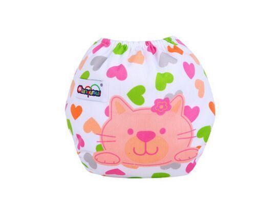 Couches lavables et réutilisables 10 pièces/lot | 22 styles de couches pour bébé, couches changeantes en coton, pantalon dentraînement, tissu heureux 0-24M ctrx0016