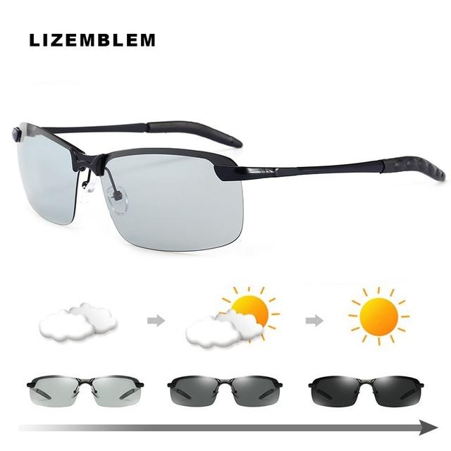 4488fa89851 Photochromic Polarized Sunglasses Men Women 3024 Sun Glasses UV400 Eyewear  Rays Hot Sunglass Bens Erkek Gozluk Zonnebril Mannen