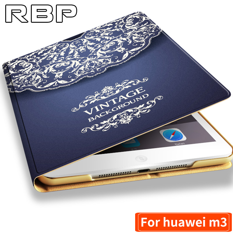 RBP for Huawei m3 Case 8.4 inch Pu for Huawei m 3 cover 8.4 inch Protective case for huawei mediapad m3 cover Cartoon pattern mediapad m3 lite 8 0 skin ultra slim cartoon stand pu leather case cover for huawei mediapad m3 lite 8 0 cpn w09 cpn al00 8