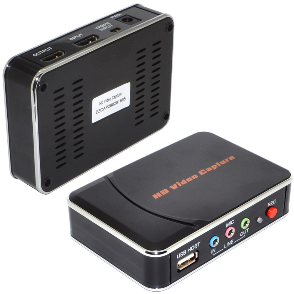 YY-EZCAP280 1080P HDMI Video Capture Game Collection HD Video Capture Card Free Shipping 12001952