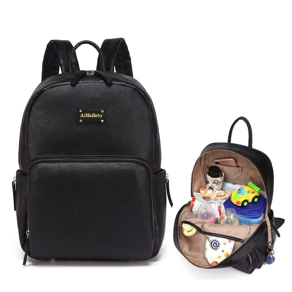 fashion brand new large capacity maternity mummy nappy bag baby bags backpack designer diaper. Black Bedroom Furniture Sets. Home Design Ideas