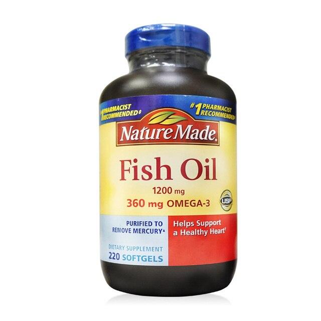 Рыбий Жир 220 Капсул Фармацевт Рекомендуем Рыбий Жир Таблетки (1200 мг Концентрата Рыбьего жира 360 мг Омега 3 Жирные кислоты 360 мг EPA)