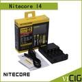 Carregador Nitecore I4 Nitecore Carregador de Bateria para 18650 14500 17670 18490 17500 17335 16340 CR123 Carregador de bateria Universal